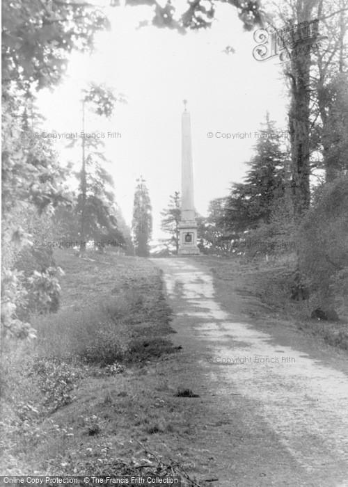 Photo of Windsor, Great Park, The Obelisk c.1960