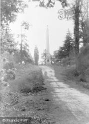 Windsor, Great Park, The Obelisk c.1960