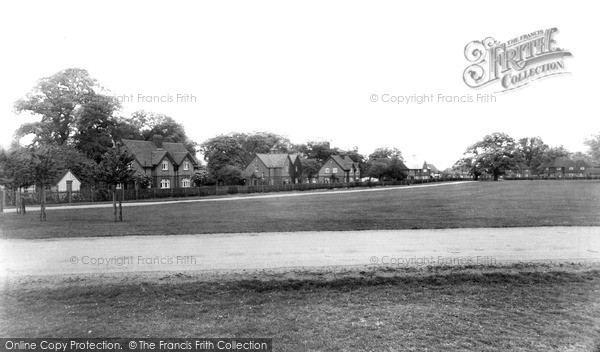 Photo of Windsor, Great Park, The Village c.1960