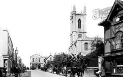 High Street And Church Of St John The Baptist 1895, Windsor