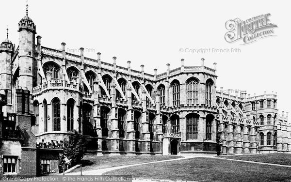 Photo of Windsor, Lower Ward, St George's Chapel 1895, ref. 35387