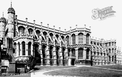 Windsor, Lower Ward, St George's Chapel 1895