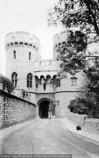 Photo of Windsor, Norman Tower c1890