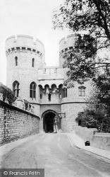 Windsor, Norman Tower c.1890