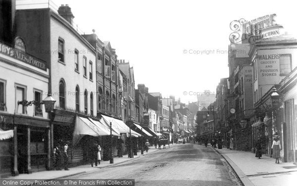 Photo of Windsor, Peascod Street 1906