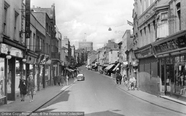 Photo of Windsor, Peascod Street 1949