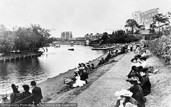 Photo of Windsor, Riverside Gardens 1906