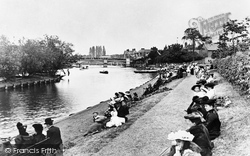 Windsor, Riverside Gardens 1906
