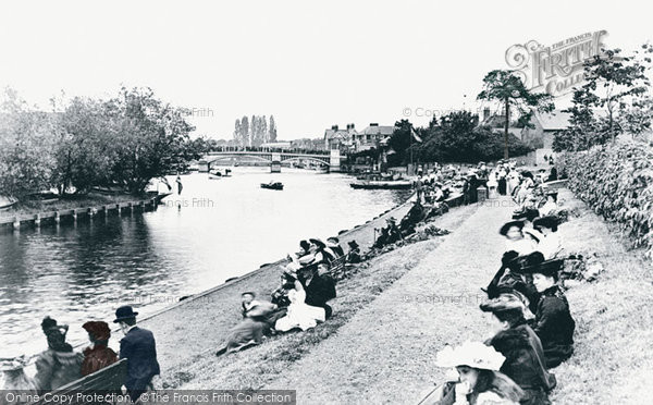 Photo of Windsor, Riverside Gardens 1906