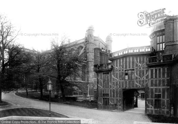 Photo of Windsor, St George's Chapel 1895