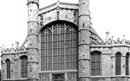 Windsor, St George's Chapel, West End 1895