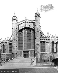 Windsor, St George's Chapel, West End 1895