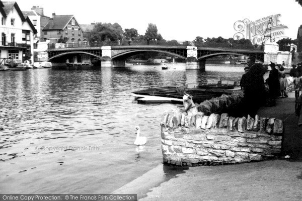 Photo of Windsor, the Bridge c1950
