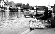 Windsor, the Bridge c1955