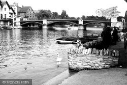 Windsor, The Bridge c.1955
