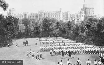 Windsor, the Castle 1890