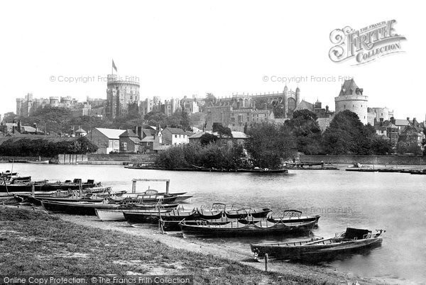 Photo of Windsor, The Castle 1895
