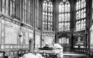 Windsor, The Castle, Albert Memorial Chapel 1895