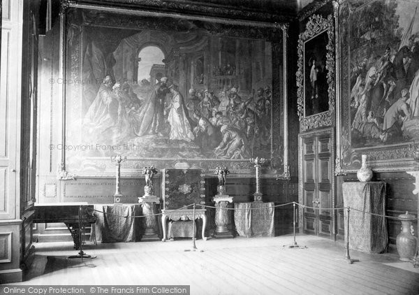 Photo of Windsor, The Castle, Audience Chamber 1895