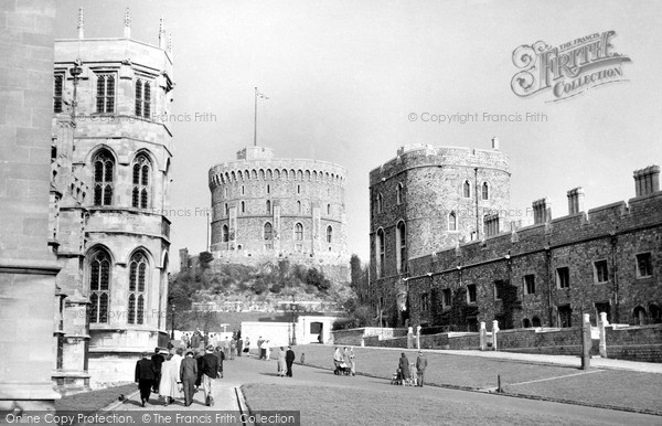 Photo of Windsor, The Castle c.1950
