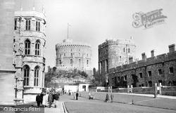 Windsor, The Castle c.1955