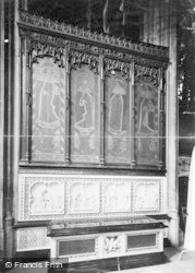 Windsor, The Castle, Duchess Of Gloucester Monument 1895