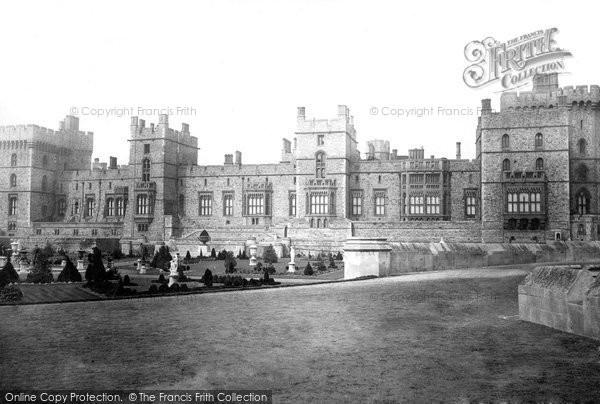 Photo of Windsor, The Castle, East Terrace 1895