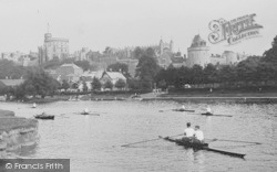 Windsor, The Castle From The River 1914