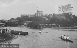 Windsor, The Castle From The River 1929