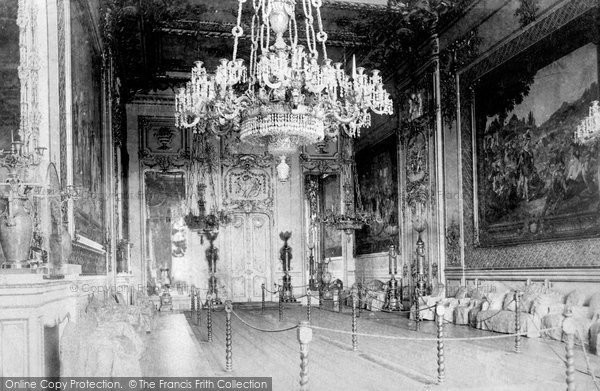 Photo of Windsor, The Castle, Grand Reception Room 1895
