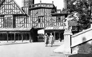 Windsor, The Castle, Horseshoe Cloister c.1955