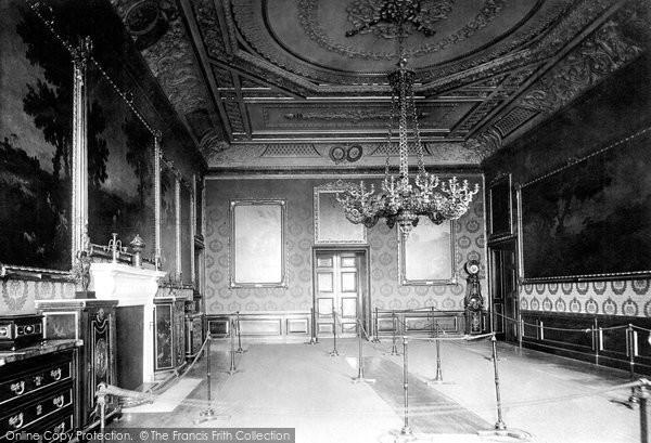 Photo of Windsor, The Castle, Rubeus Room 1895