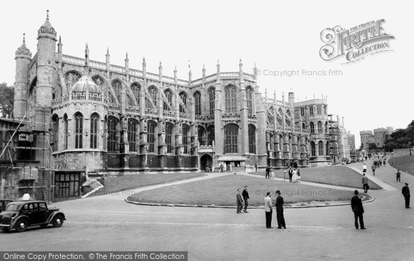 Photo of Windsor, The Castle, St George's Chapel c.1960