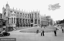 Windsor, The Castle, St George's Chapel c.1960