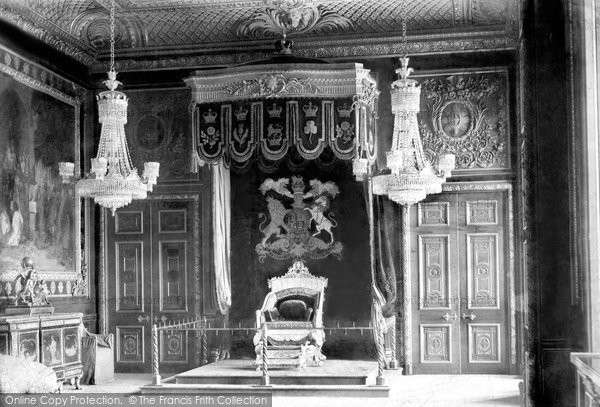 Photo of Windsor, The Castle, Throne Room 1895