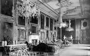 Windsor, The Castle, Van Dyck Room 1895