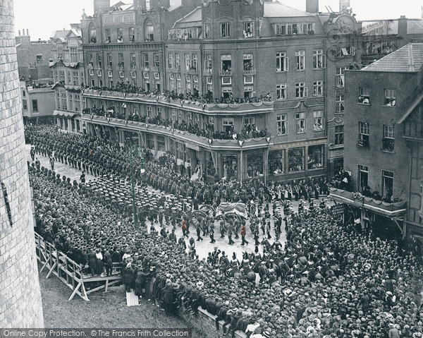 Photo of Windsor, The Funeral Of King Edward Vii 1910