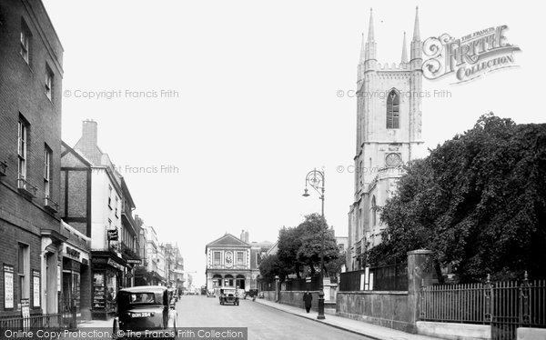 Photo of Windsor, The Parish Church 1937
