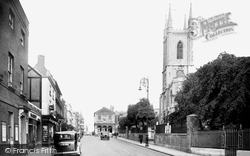 Windsor, The Parish Church 1937