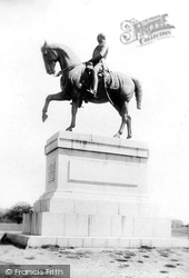Windsor, The Prince Consort Statue 1895