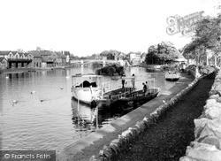 Windsor, The River Thames  c.1960
