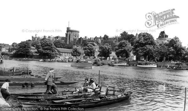 Photo of Windsor, The River Thames c.1960