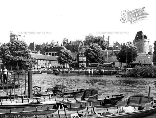 Photo of Windsor, The River Thames c.1965