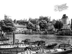 Windsor, The River Thames c.1965