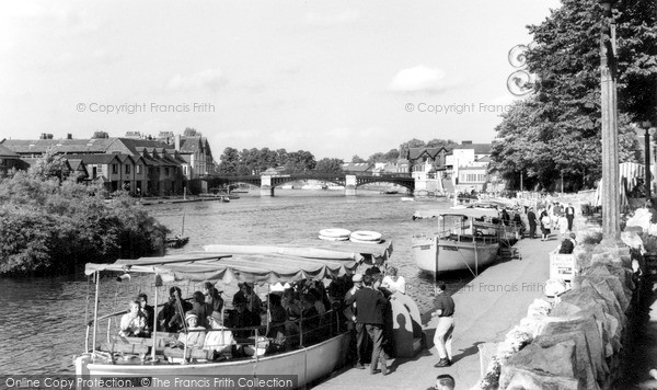 Photo of Windsor, the River Thames c1965