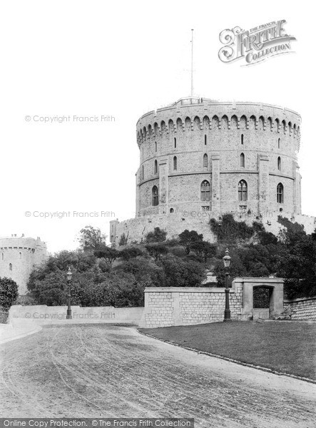 Photo of Windsor, The Round Tower c.1890