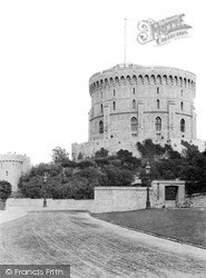 Windsor, The Round Tower c.1890