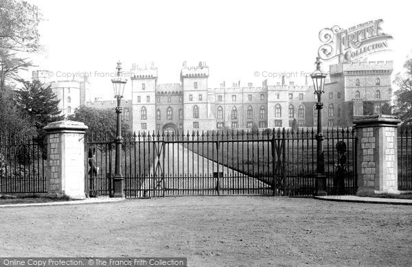 Photo of Windsor, The Sovereign's Entrance 1895