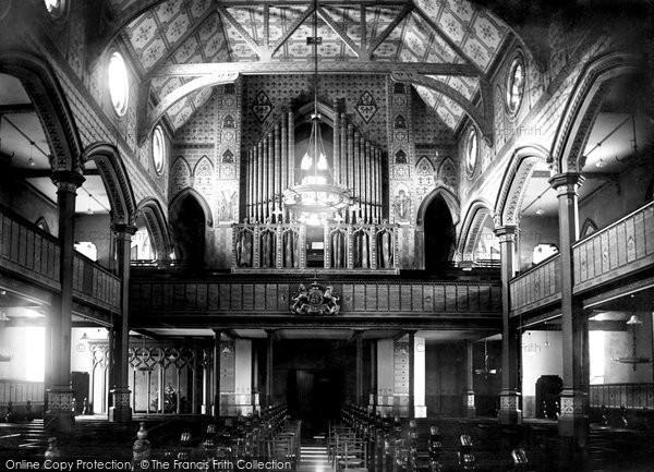 Photo of Windsor, Trinity Church, The Organ 1906