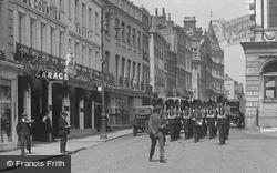 Windsor, Troops On Parade, High Street 1914